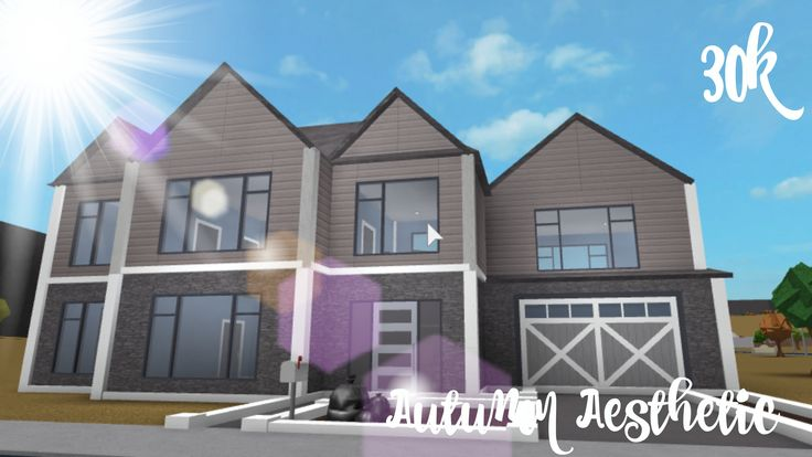 Lovely Bloxburg Home Suburban Homes In 2019 House