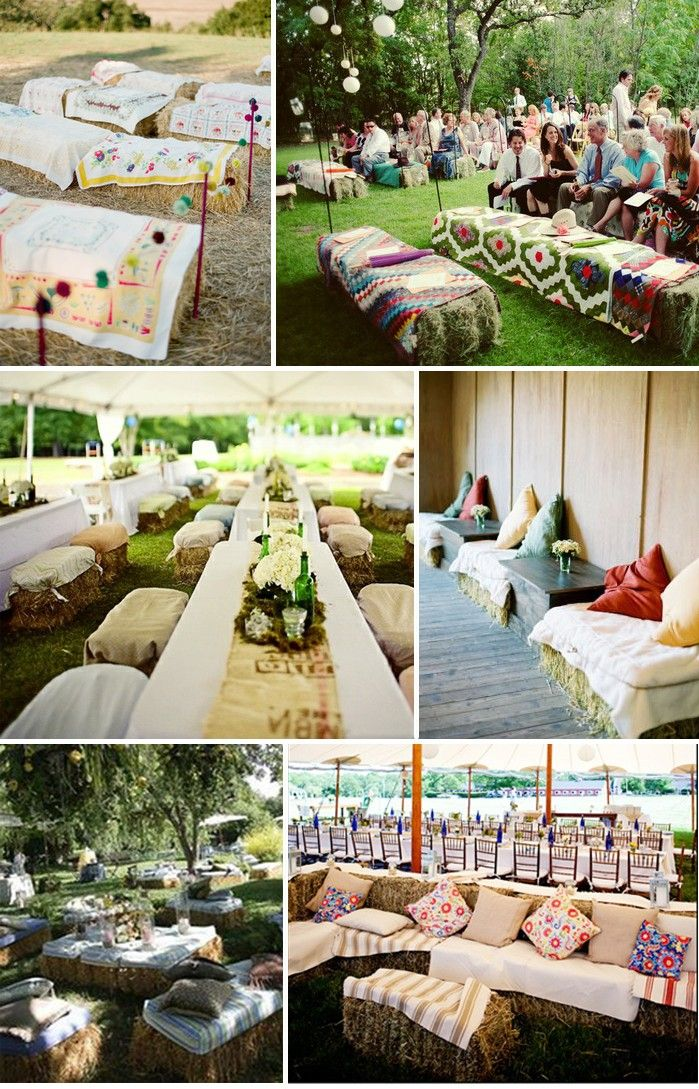 country wedding ideas | Straw-Bale-Wedding-Seating-Montana-Wedding-Ideas-e1326903446576.jpg