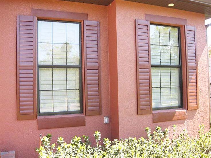 Best 25+ Exterior wood shutters ideas on Pinterest | DIY ...