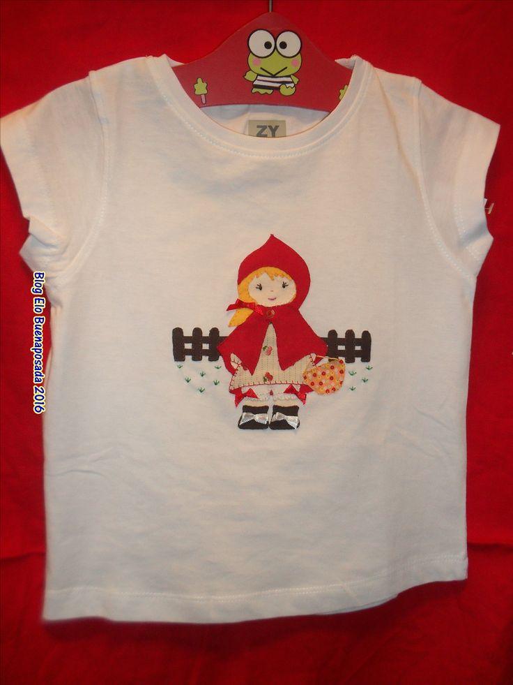 Camiseta caperucita roja