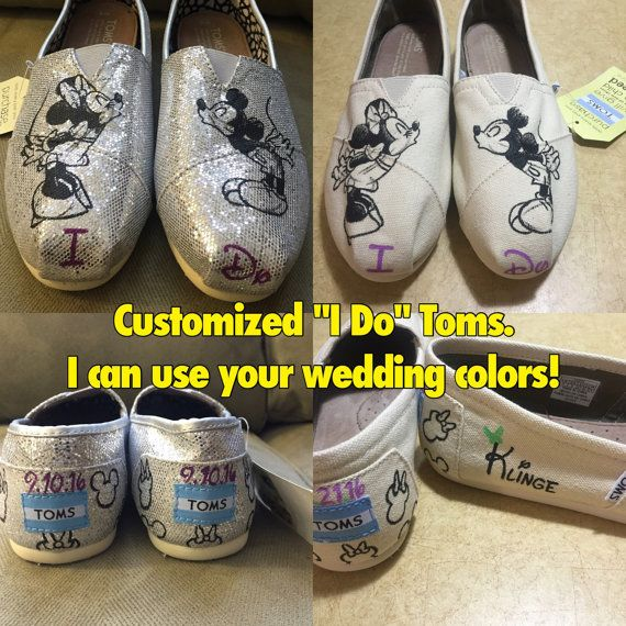 I Do Mickey & Minnie Sketch Toms disney by ButterMakesMeHappy