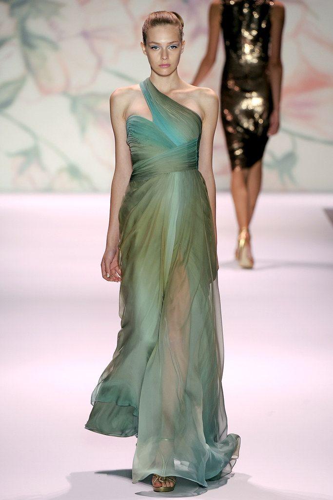 air jordan high tops Monique Lhuillier Spring 2011 Ready to Wear Collection Photos   Vogue