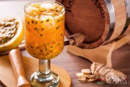 Receita de Caipirinha tentação de maracujá em receitas de bebidas e sucos, veja essa e outras receitas aqui!
