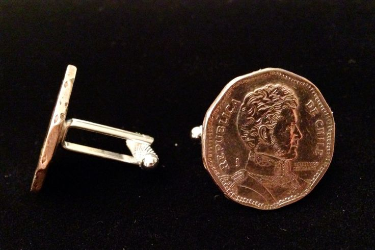 Chili coin with Knurled backing