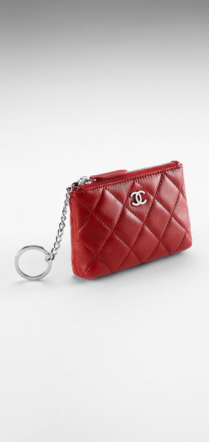 Chanel key pouch: Lambskin 470, Fashion, Chanel Keys Holders, Quilts ...
