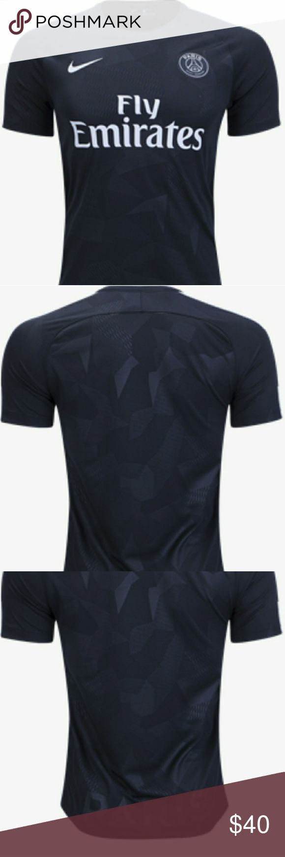 PSG THIRD BLACK AWAY JERSEY CHAMPIONS LEAGUE This a brand new psg third away jersey season 17-18 champions league version Nike Shirts Tees - Short Sleeve