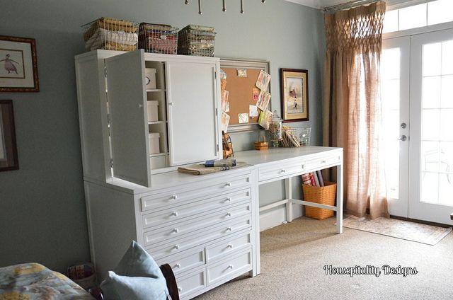 My New Craft AreaMartha Stewart Craft Furniture