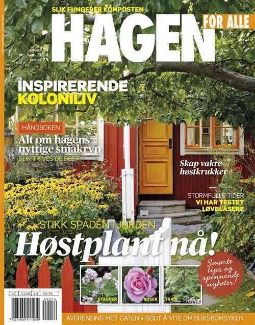 Hagen for Alle er bladet for deg som elsker hage. Her finner du inspirasjon og får praktiske råd.