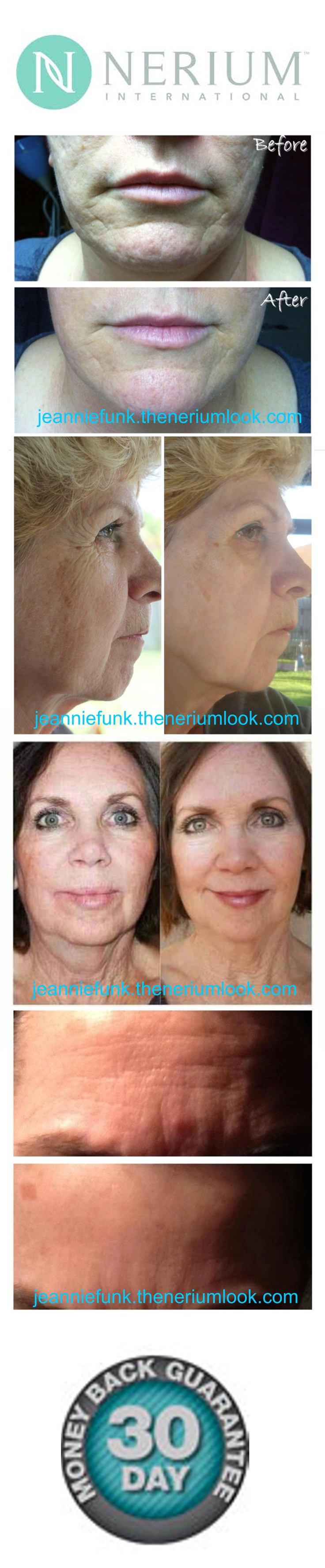 LOOK BETTER.  LIVE BETTER!   Nerium International http://jeanniefunk.theneriumlook.com