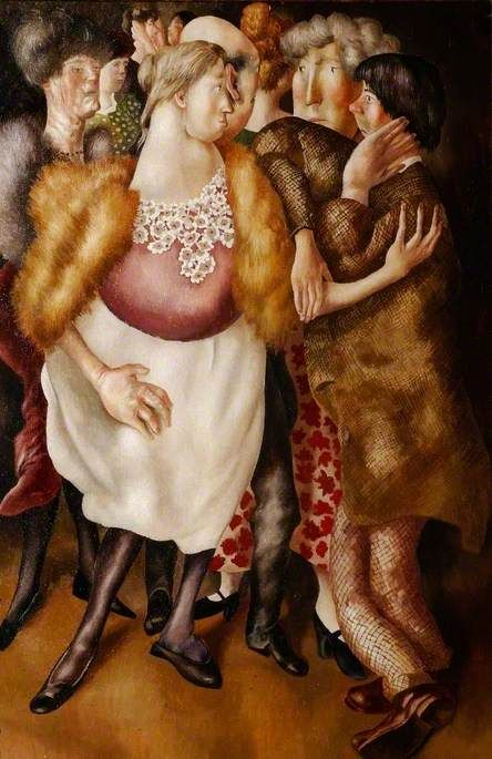 stanley spencer(1891–1959), the beatitudes of love (5): contemplation, 1938. stanley spencer gallery, uk http://www.bbc.co.uk/arts/yourpaintings/paintings/the-beatitudes-of-love-5-contemplation-27353