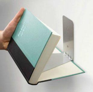 The Bookend Bookshelf | 25 Awesome DIY Ideas For Bookshelves