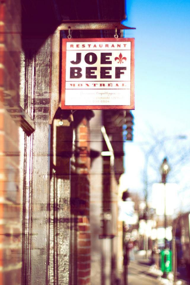 Joe Beef - Montréal