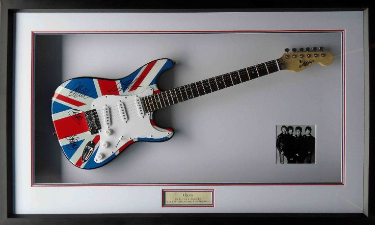 Oasis Guitar And Signed Guitars Bass Guitars ️