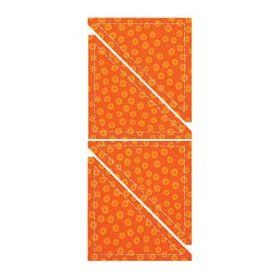 AccuQuilt GO! Fabric Cutting Dies; Half Square; 4-inch Finished Trinagle $24.36