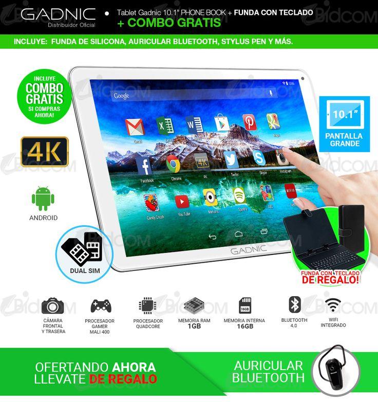 Tablet PC Gadnic Dual Sim Celular + 3G + GPS 0