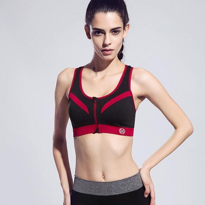 NEW Women Zipper Shock-Proof Underwear With Inner Pad