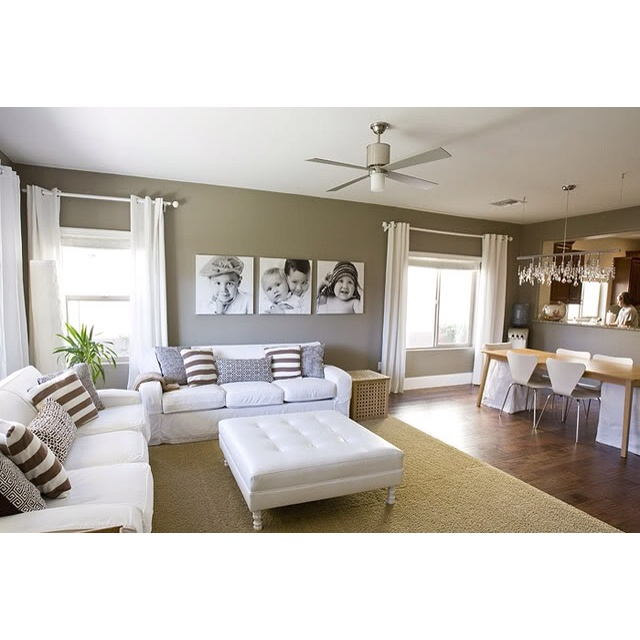 I Love The Color Scheme Of Grey Black And White In Living Room With