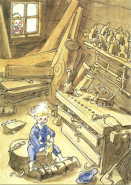 'Emil of Lönneberga' (Astrid Lindgren) by Björn Berg
