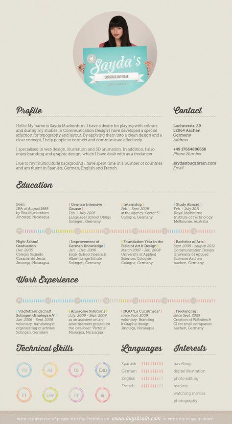 resume design のおすすめ画像 28 件 pinterest クリエイティブな