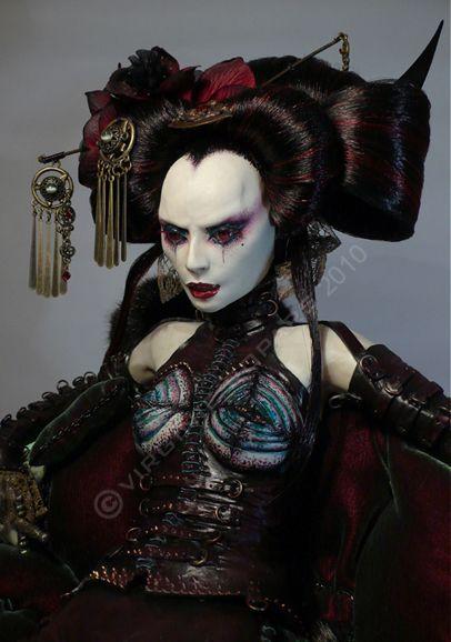 whatjanesaw: witchesofmars: art dolls... - moth and lantern