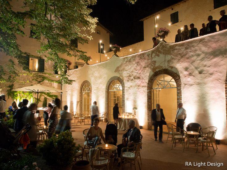 Facade light,villa Montefiano 02.07.16 www.ralightdesign.com