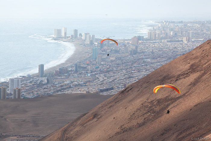 New dream vacation to add to the bucket list - Paragliding above Iquique, Chile