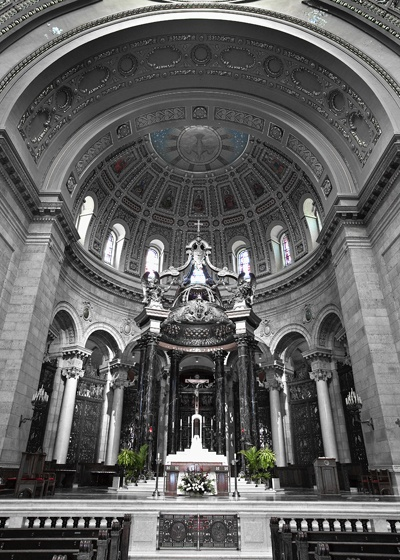 Cathedral of St. Paul in St. Paul, MN