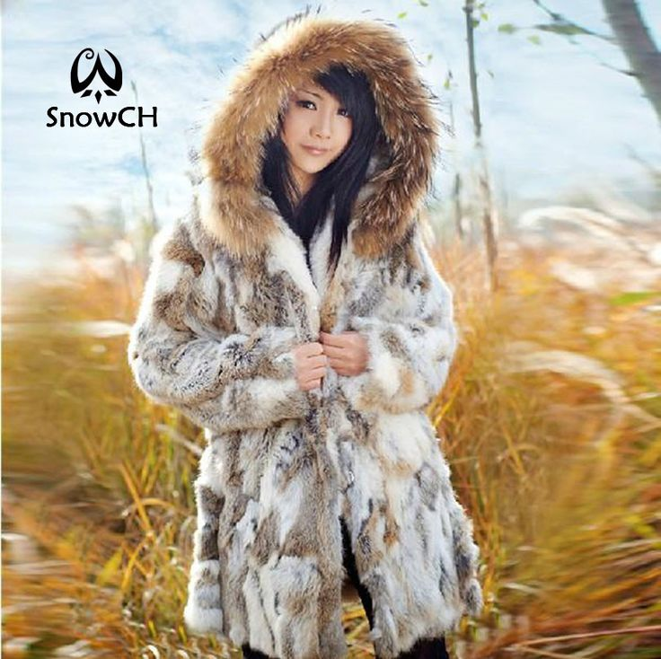 Cheap fur hooded jacket women, Buy Quality fur cape directly from China fur cover Suppliers: Free Shipping Genuine Rabbit Fur Coat with hood raccoon fur rabbit fur jacket Women Winter Rabbit Fur Waistcoat plus size F803