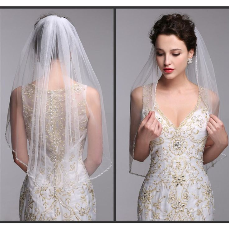 Best 25+ Short Wedding Veils Ideas On Pinterest