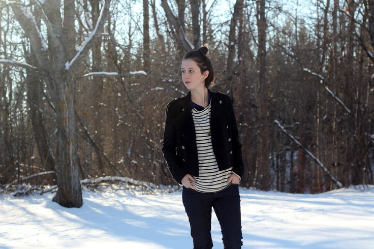 Snow Sailor // Flannel Foxes Tomboy Fashion Blog