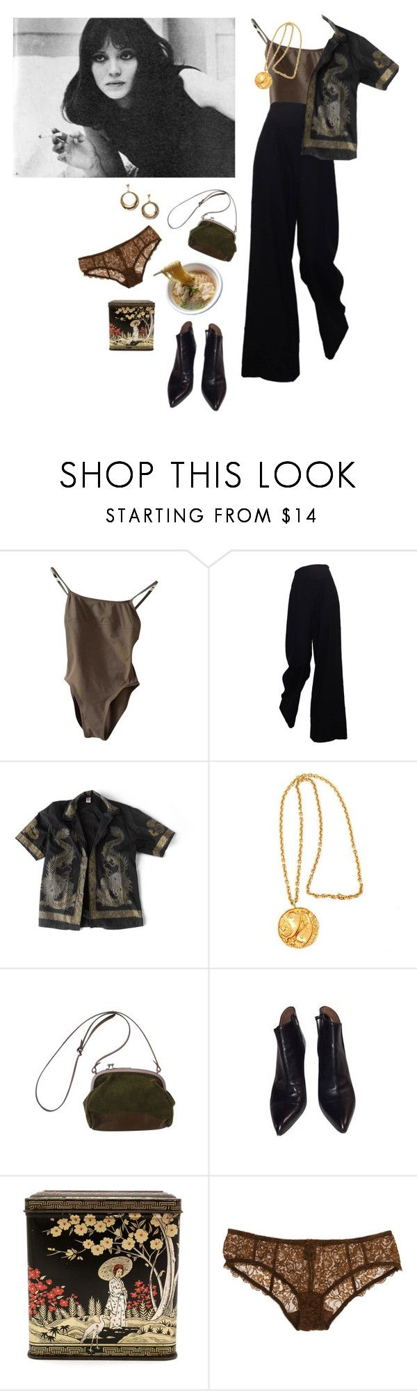 """Pisces"" by leylamia ❤ liked on Polyvore featuring The Row, Margaret Howell, Alaïa and Deborah Marquit"