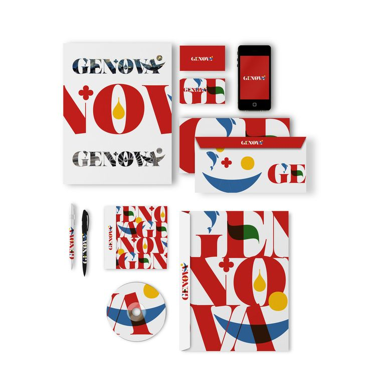 Manes Design. Graphic Design, Art & Love. Cambridge + London,Uk - Genova City Branding