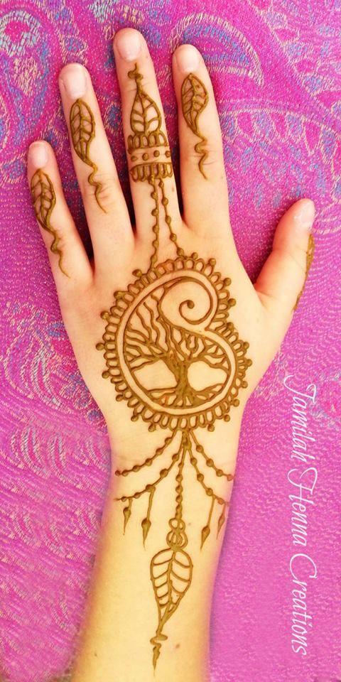 tree henna by Jamilah Zebarth