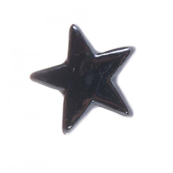 Kastknop Zwarte Ster