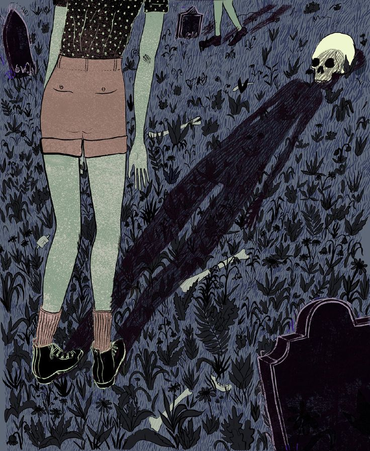 "Lily Padula - ""Illustration about bad omens"""