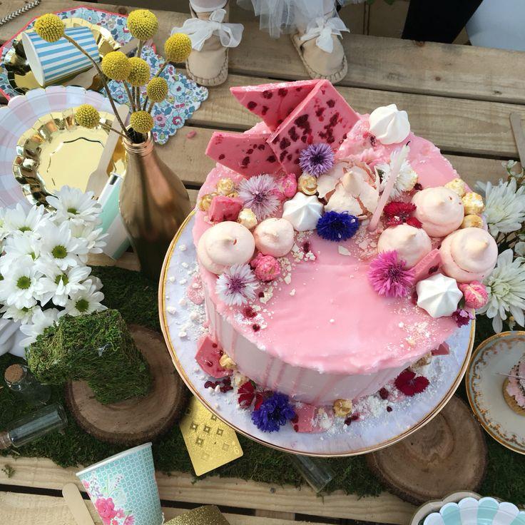 Perfect Pink Cake