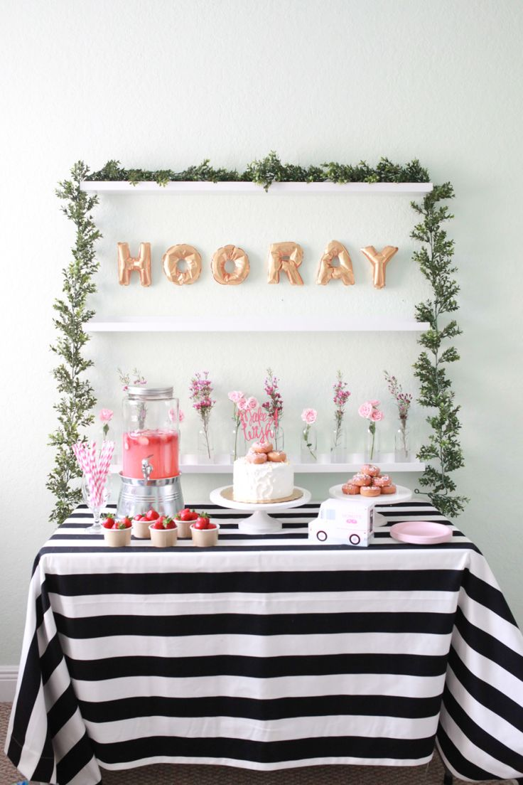Hooray for this fun donut birthday party! Photography : Soo Kim Photography Read More on SMP: http://www.stylemepretty.com/living/2016/07/10/a-birthday-party-theme-that-youll-love-whether-youre-3-or-30/