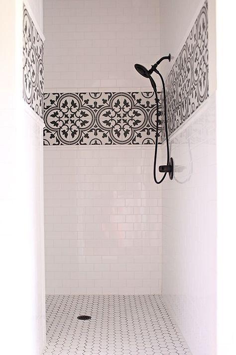 Lieben Sie die Einfachheit dieses Baddesigns. Nein…