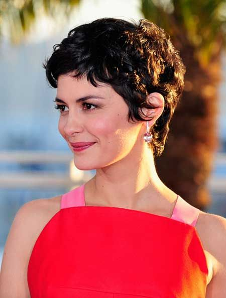 Cool Wavy Pixie Hairstyle                                                                                                                                                                                 More