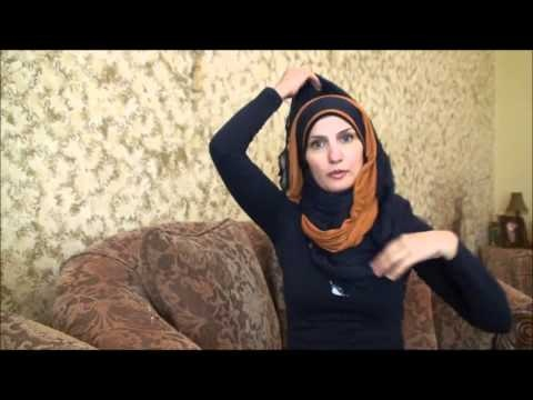 Hijab Tutorial # 29( Double Fancy Hijab)