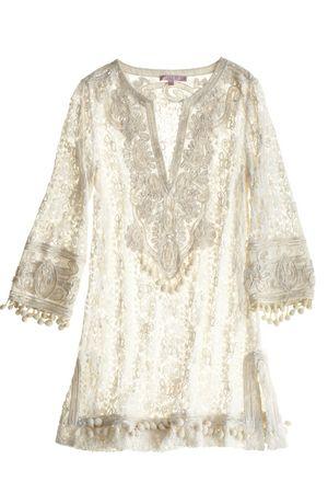 ...lace tunic