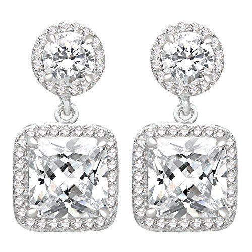 Ever Faith 925 Sterling Silver Gorgeous Square CZ Prong Seting Dangle Party Earrings N06049-1 Ever Faith http://www.amazon.co.uk/dp/B011BBU3PS/ref=cm_sw_r_pi_dp_HffUvb1YEAGJM