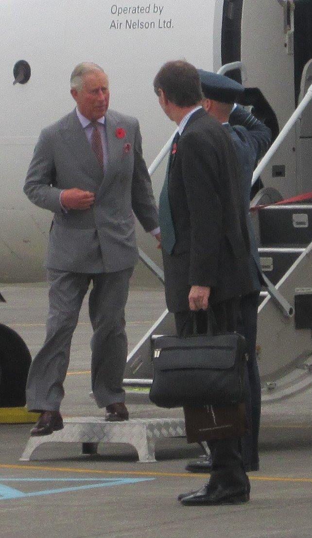 Charles and Camilla visit New Plymouth 9 November 2015