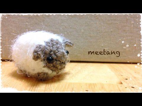 フクロウのあみぐるみ 編み方 1/3 - YouTube