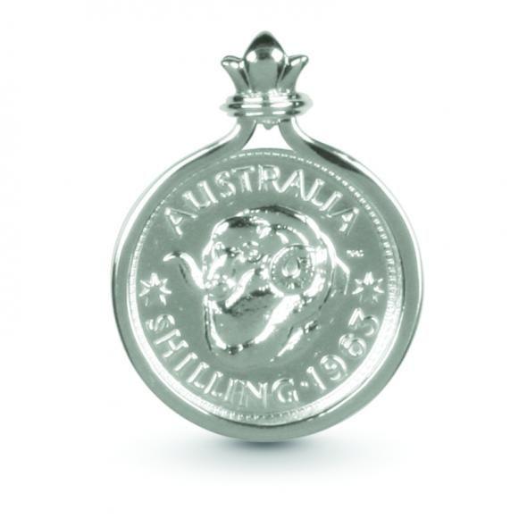 Cotton & Co Shilling Coin Pendant | Silvershop