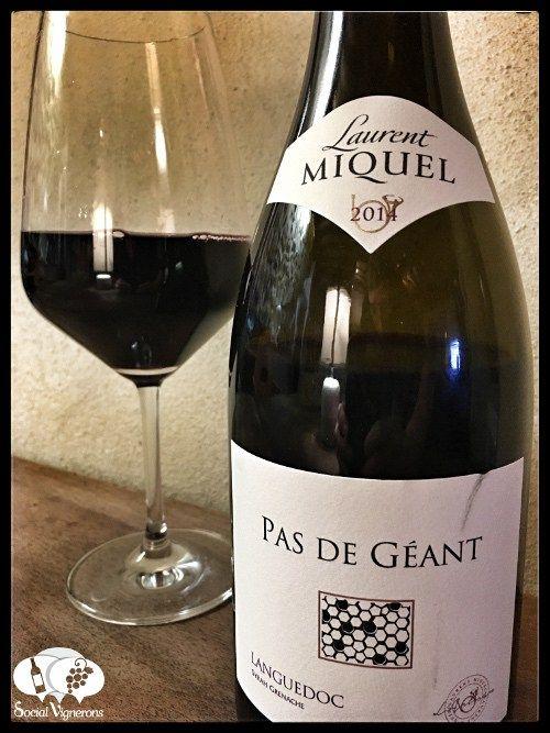 Score 90/100 Wine review, tasting notes, rating of Laurent Miquel Pas de Géant Languedoc. Description of aroma, palate profile, flavor. Join the experience.