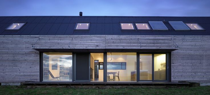 The Shed, Tokavaig, Isle of Skye, designed by Dualchas Architects. Restrained, sustainable architecture,  beautifully connected to its location.