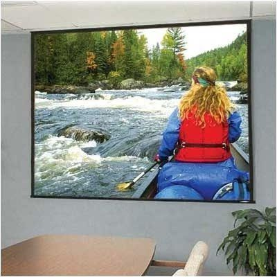 """Glass Beaded: Access/Series E Electric Screen - HDTV 92"""" diagonal by Draper. $1492.95. 104269 Features: -Now available in 16:10 and 15:9 laptop presentation formats.-Install an Access case first and the screen later..-Motor-in-roller assures quiet and smooth operation..-Warranted for one year against defects in materials and workmanship.. Options: -Depending on surface, available in sizes through 12' x 12' and 200'' NTSC..-Custom sizes available.."""