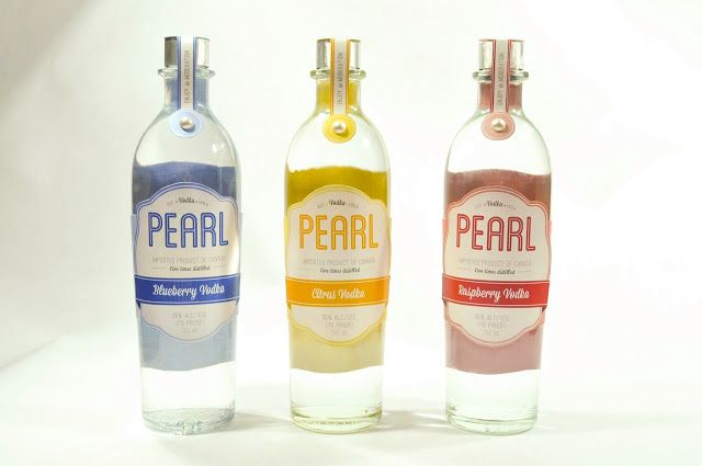 Pearl Vodka Repackaging (Student Project) on Packaging of the World - Creative Package Design Gallery