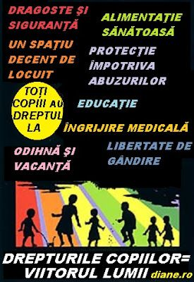 diane.ro: Citate despre drepturile copiilor